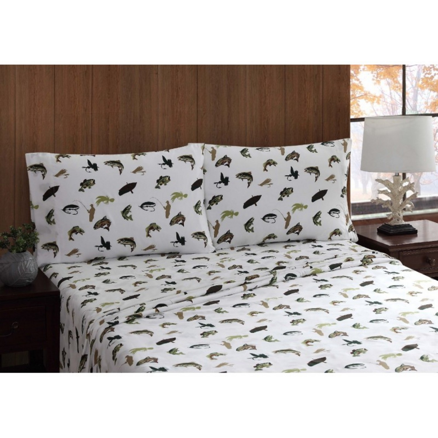 Fly Fishing Sheet Set By Remington Pem America