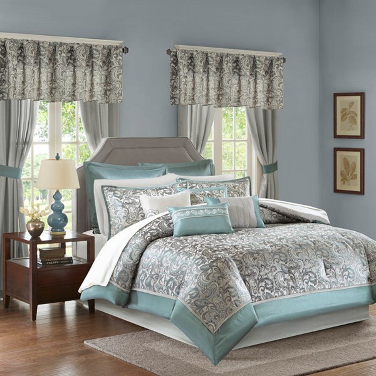 Brystol Teal By Madison Park Beddingsuperstore Com