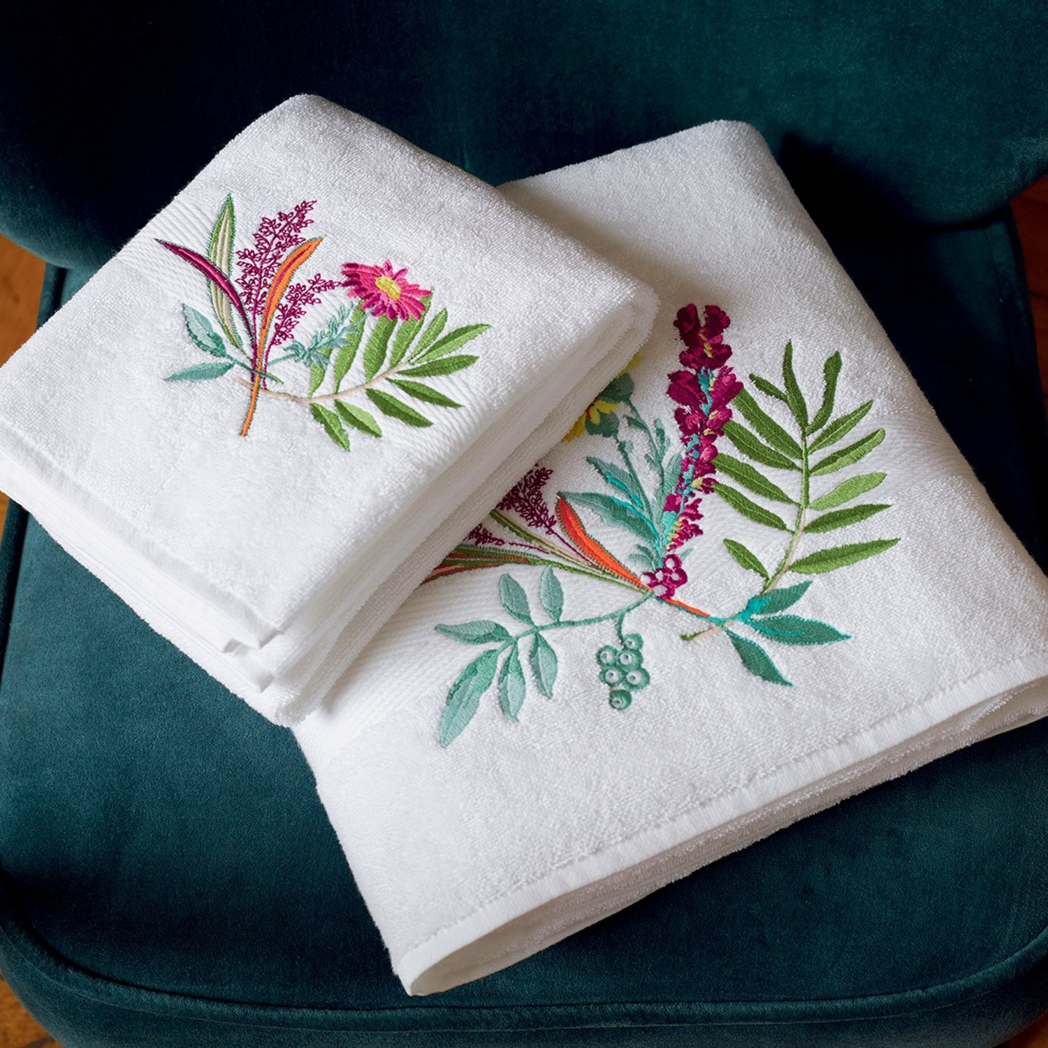Bouquets Bath Collection By Yves Delorme Paris Bedding