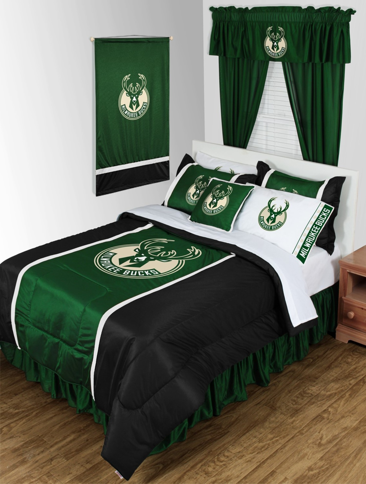Milwaukee Bucks Bedskirt King Beddingsuperstore Com