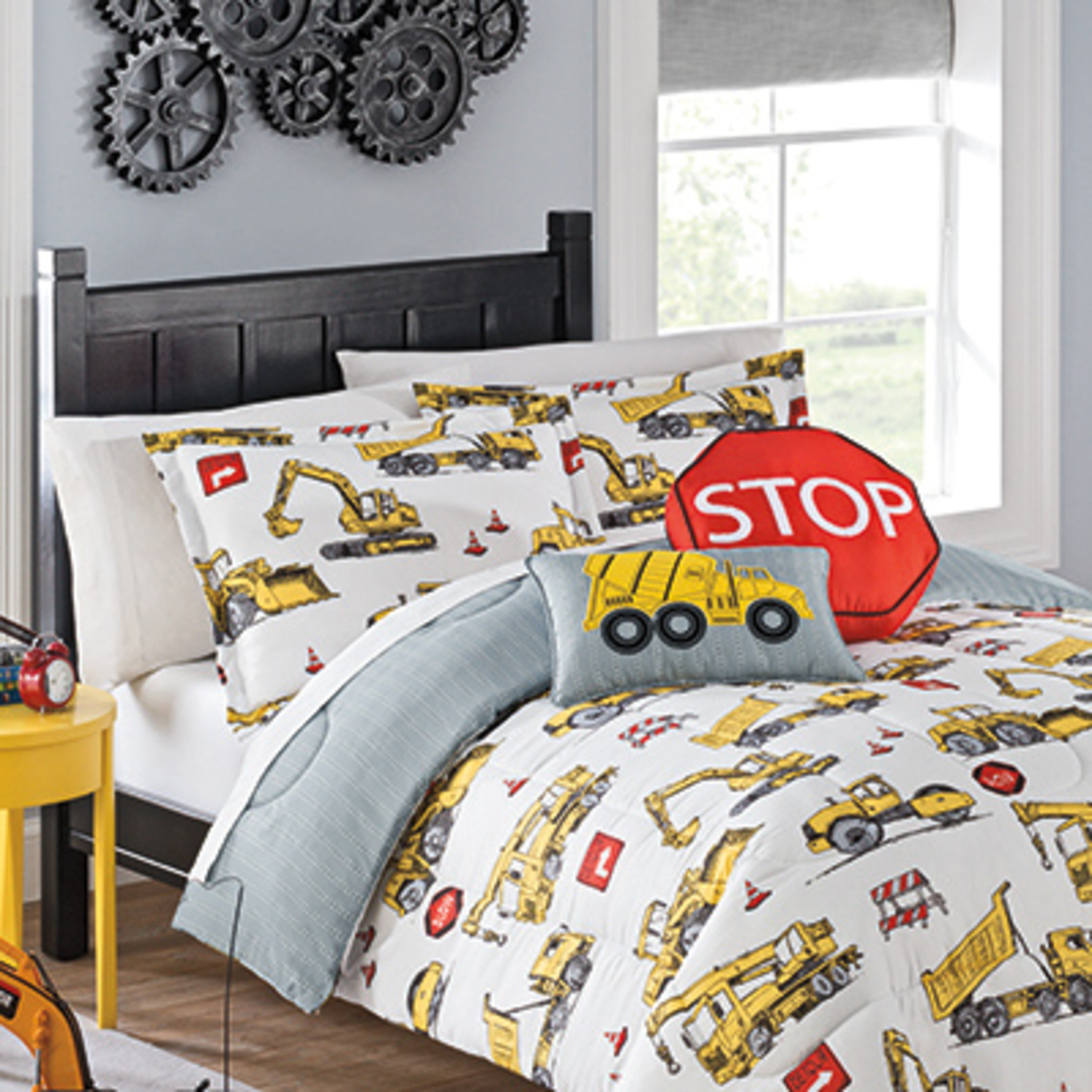 Perfect Under Construction By Waverly Kids Bedding Collection