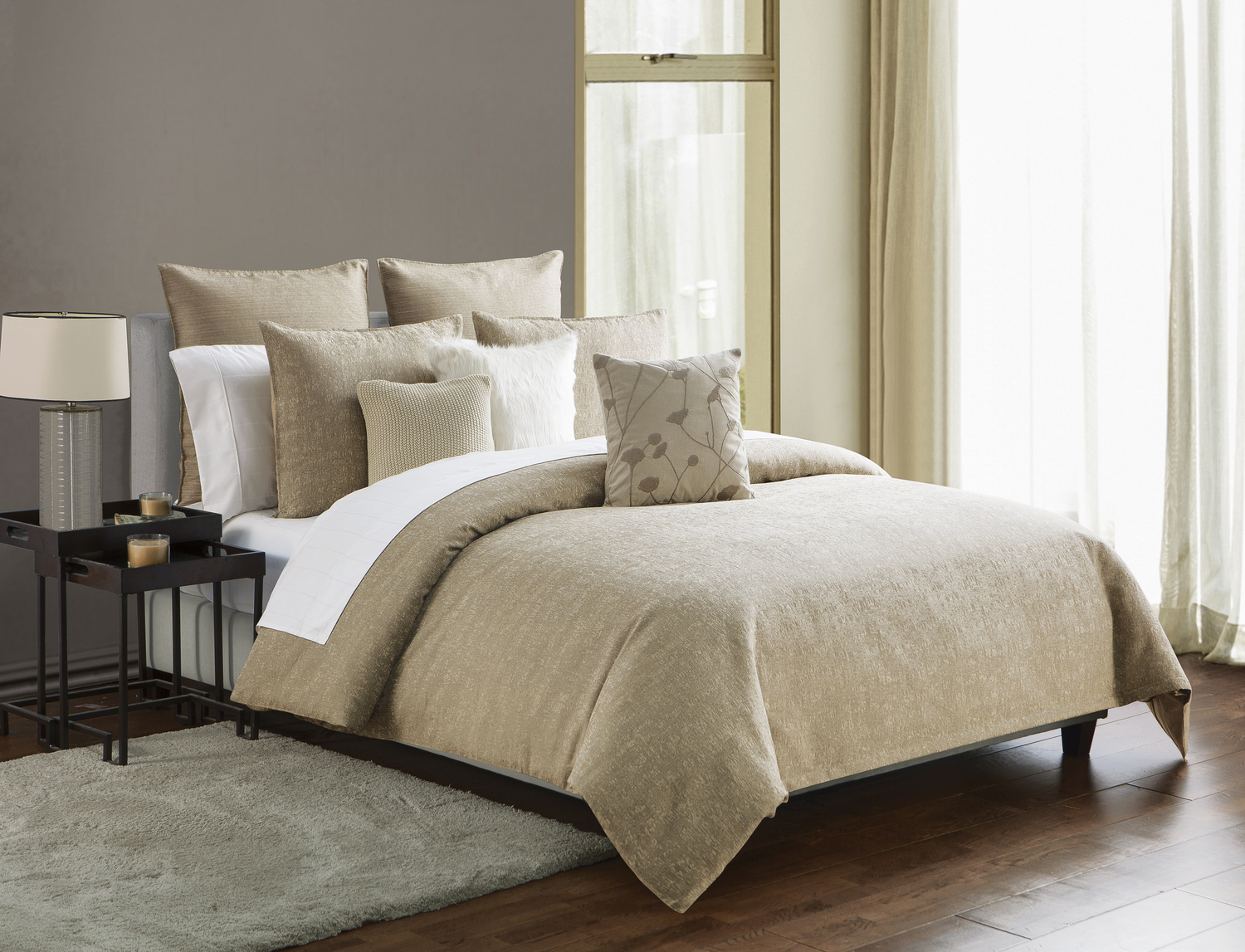 Driftwood Sand by Highline Bedding Co.