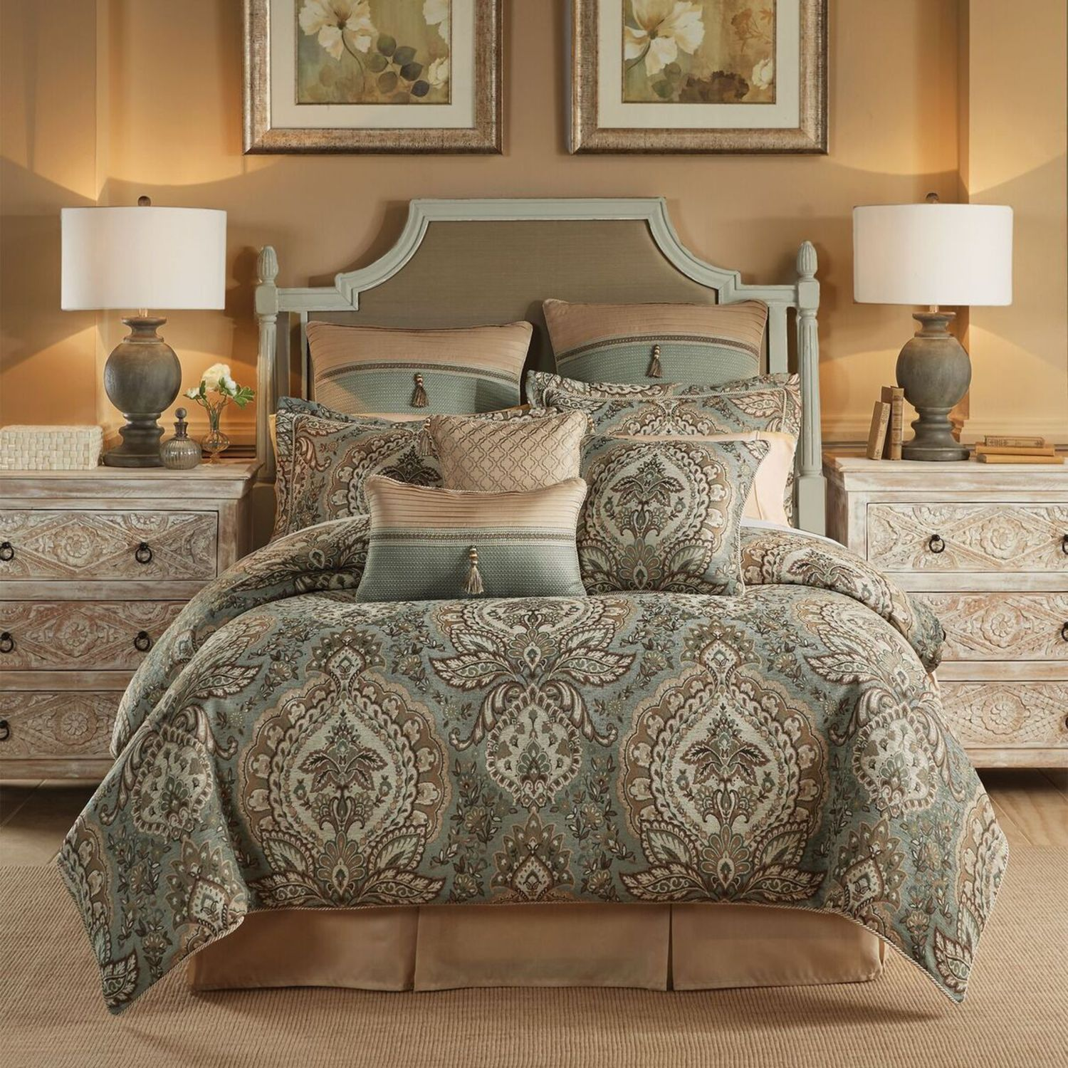 sets mountain comforters wolf comforter with bedding king lodge cabin style sale set ease wolves cabins