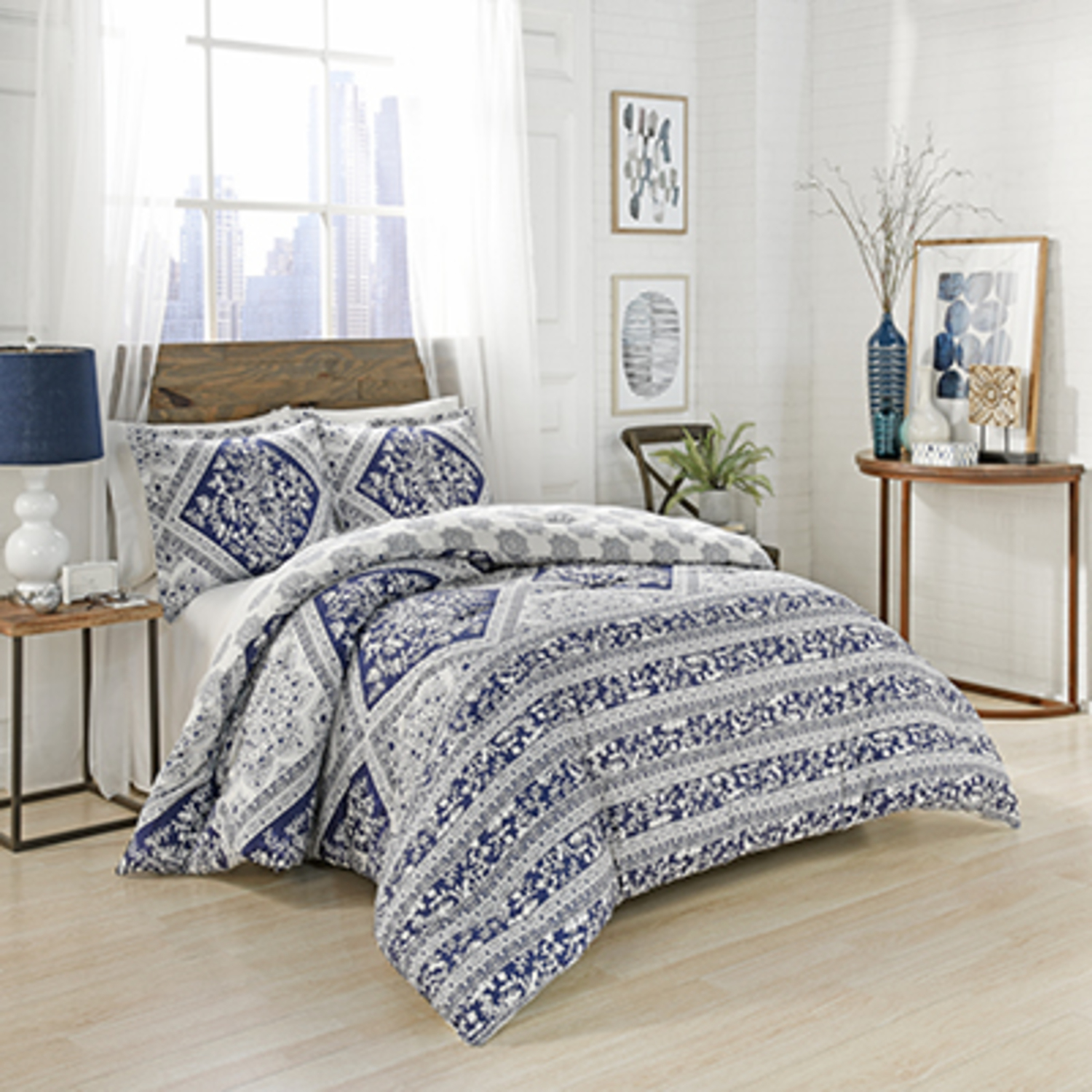 Brielle Blue By Marble Hill Designs Bedding