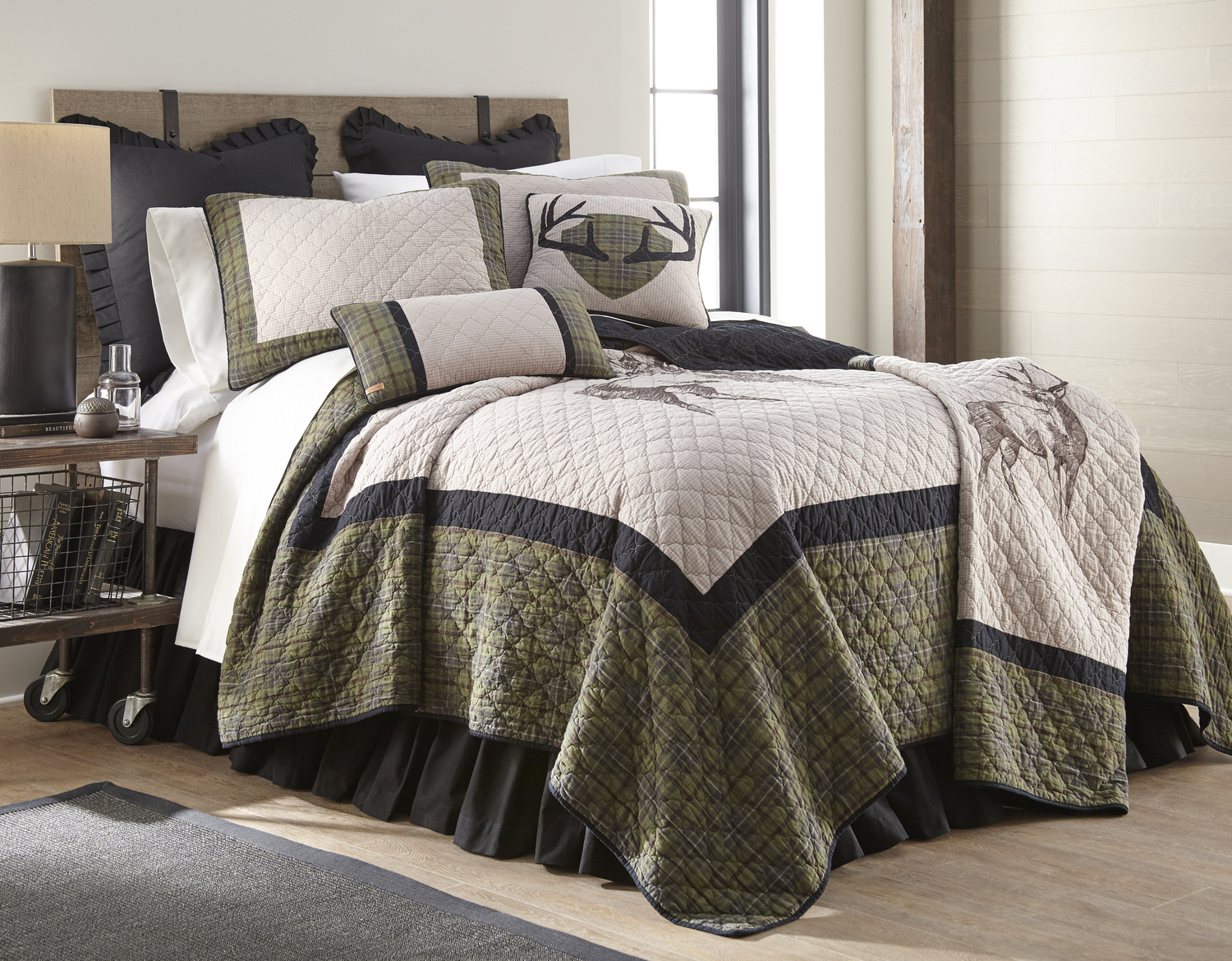 Grey S Point By Donna Sharp Quilts Beddingsuperstore Com