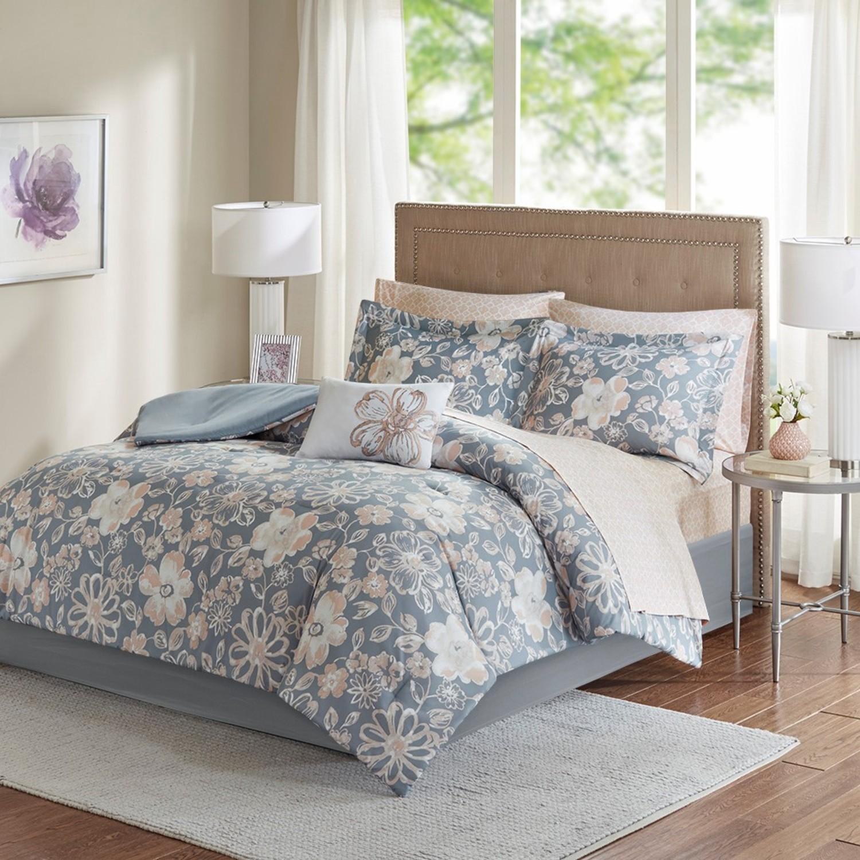 lily complete bed setmadison park  beddingsuperstore