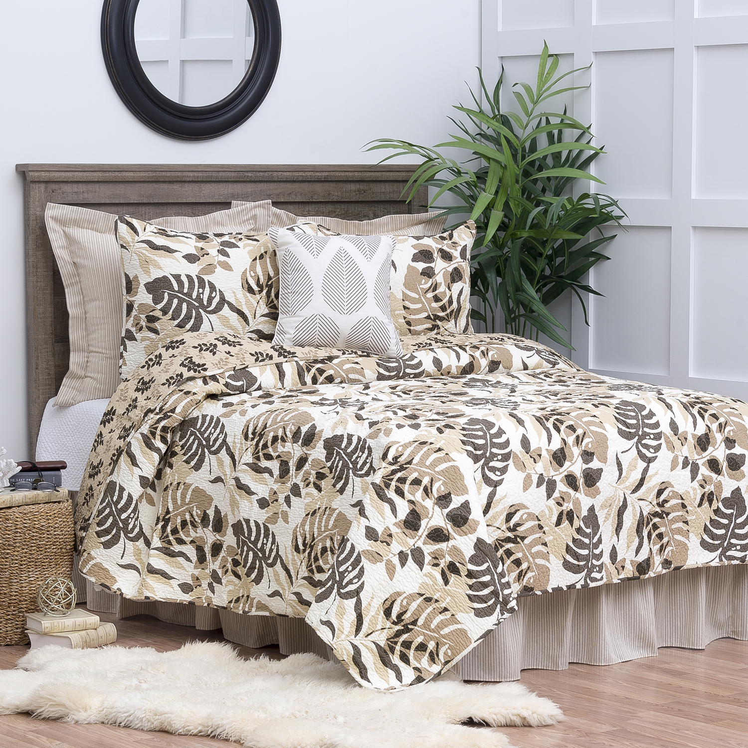 Silhouette Palm by C&F Quilts