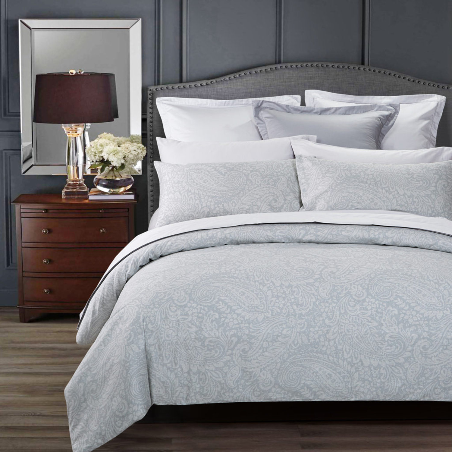 Avalon Grey by Daniadown Bedding