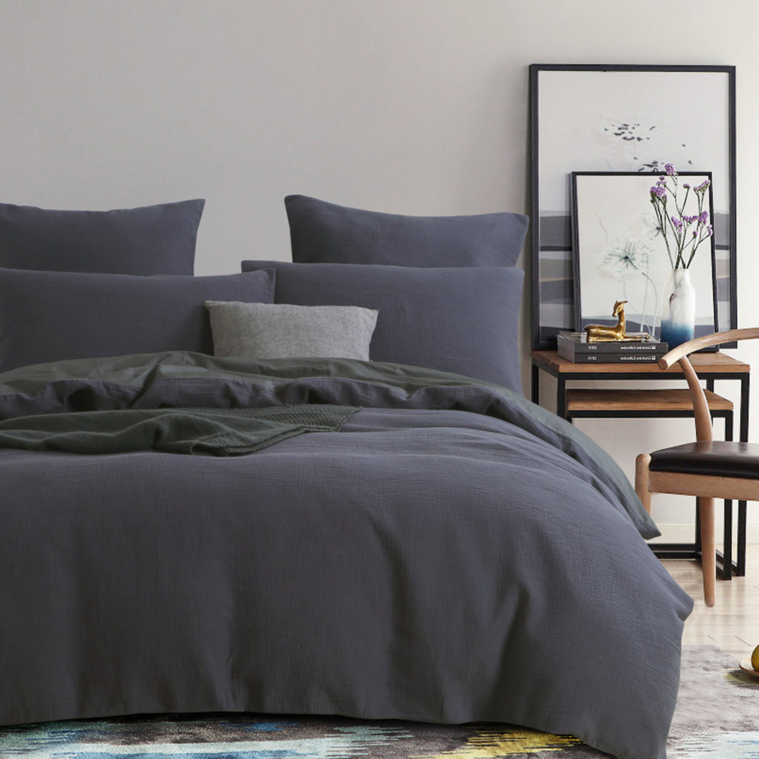 Chaucer Navy by Daniadown Bedding