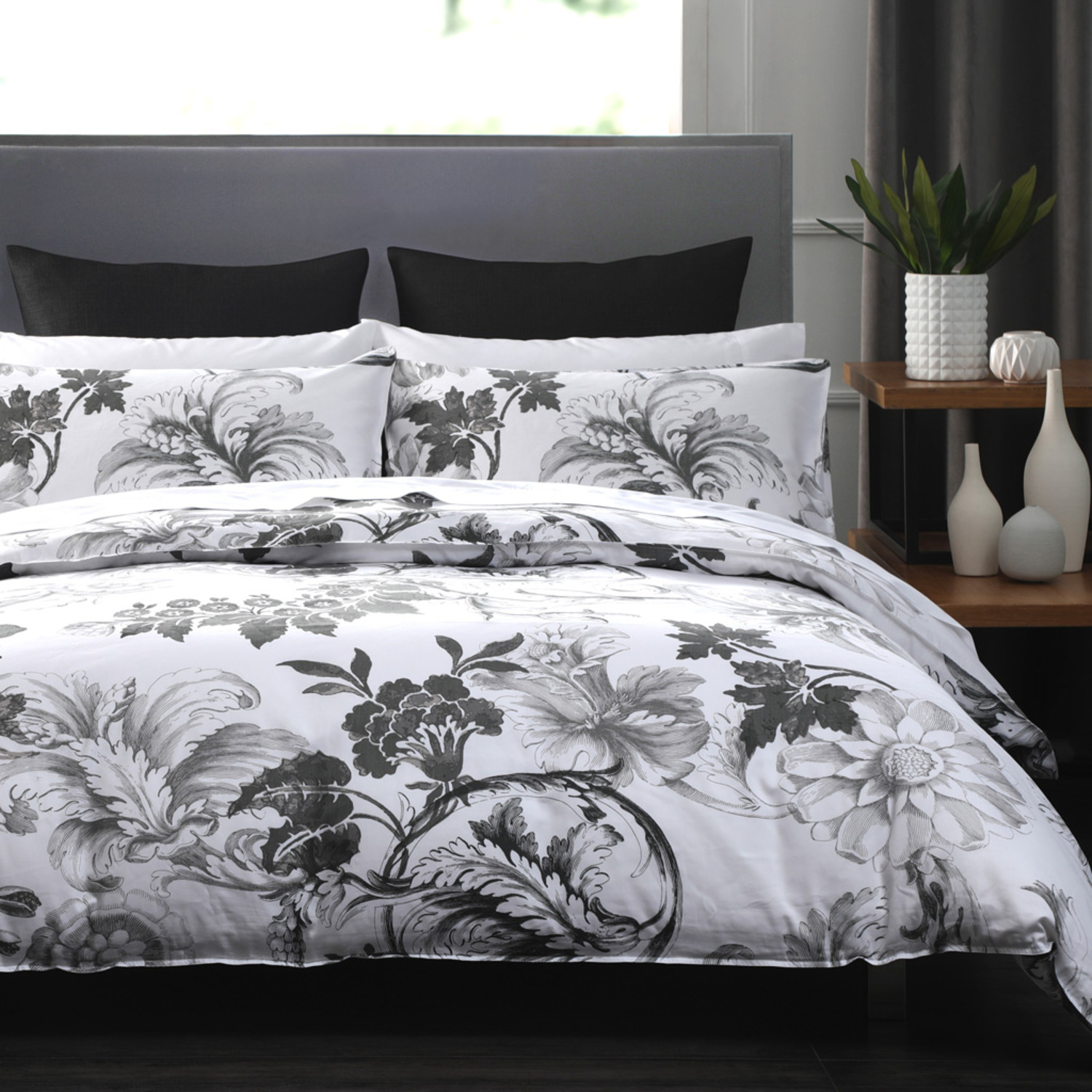 Davinci Grey by Daniadown Bedding