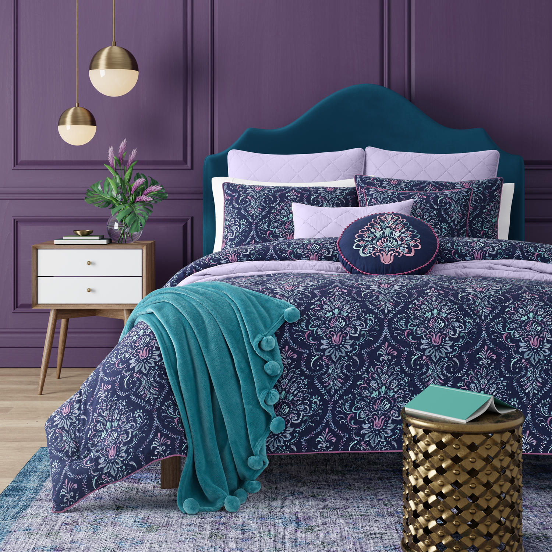 Kayani Indigo By J Queen New York Beddingsuperstore Com