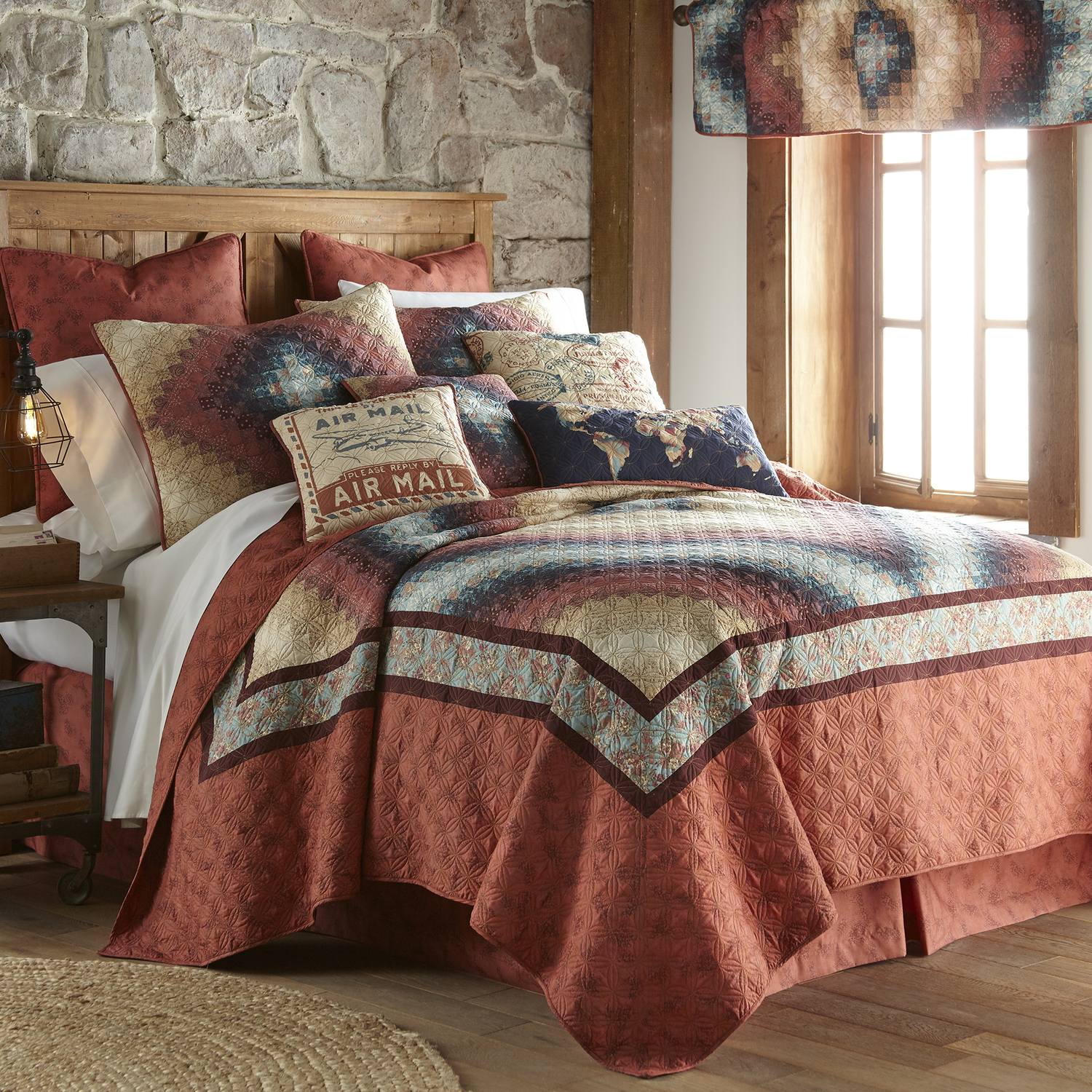 Cinnamon Spice By Donna Sharp Quilts Beddingsuperstore Com