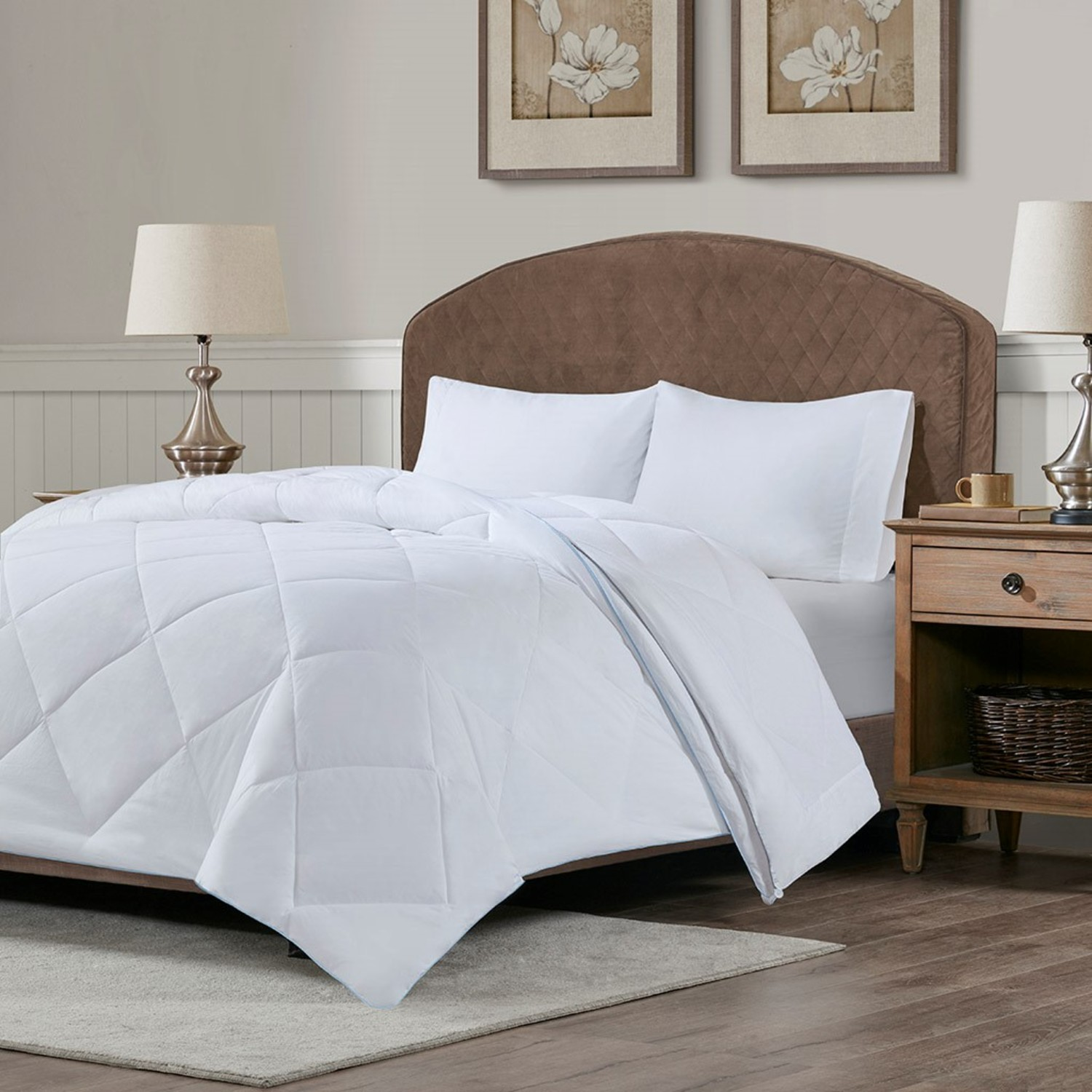Cooling And Warm Reversible Down Alternate Comforter By