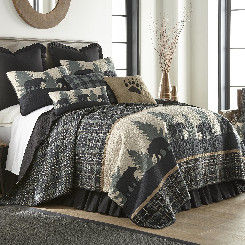 Bear Walk Plaid By Donna Sharp Quilts Beddingsuperstore Com