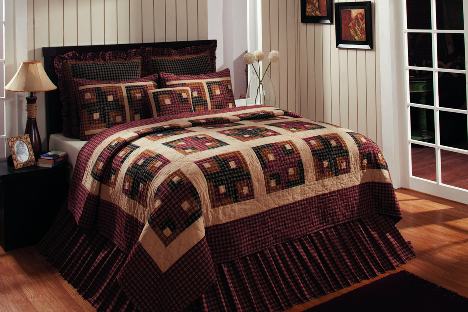 Cambridge Log Cabin by Olivias Heartland Quilts