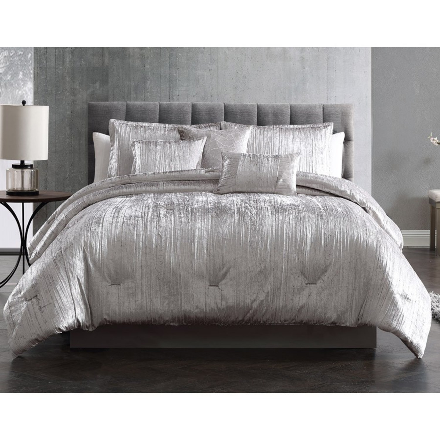 Turin Silver by Riverbrook Home Bedding