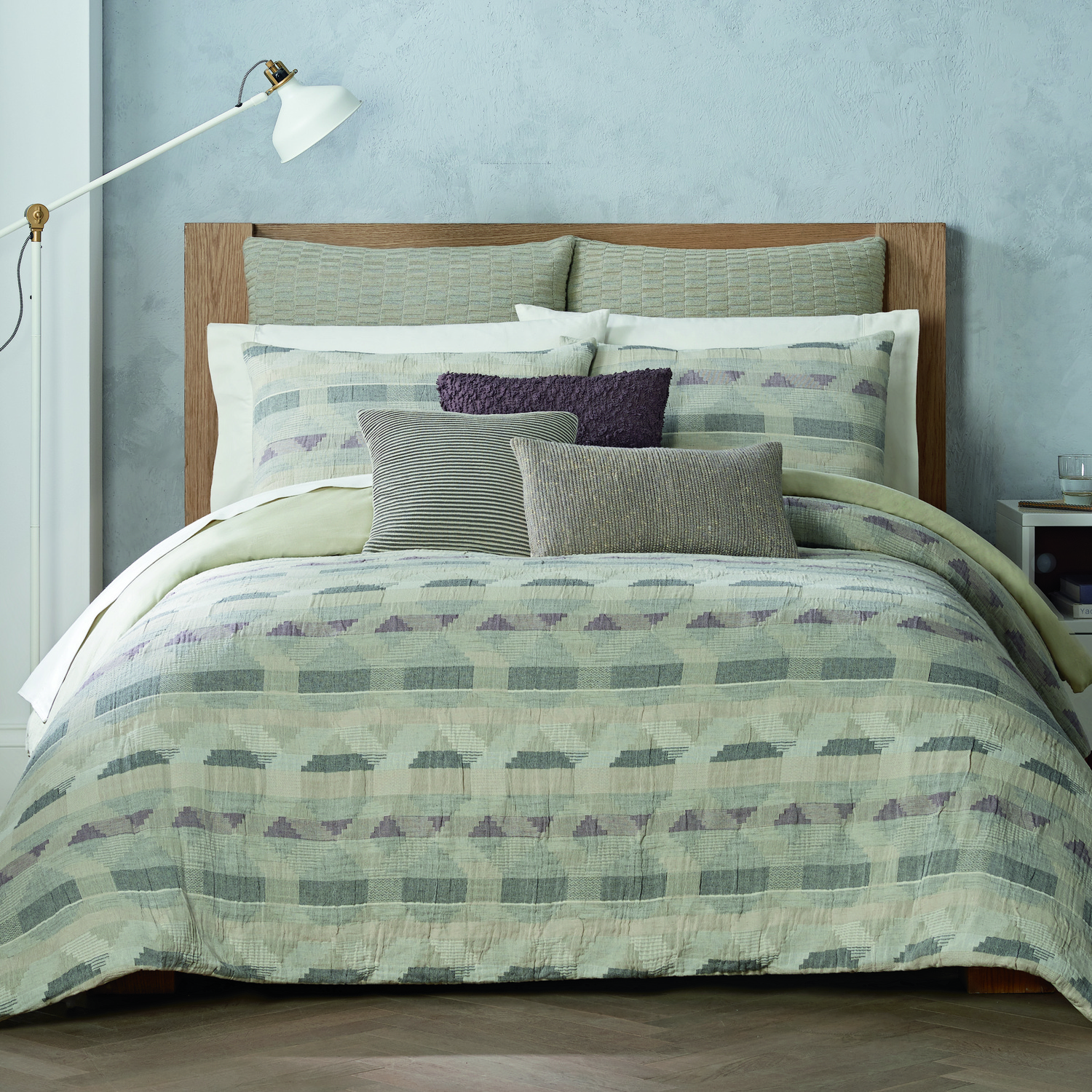 Ash Heather by Habit by Highline Bedding Co.