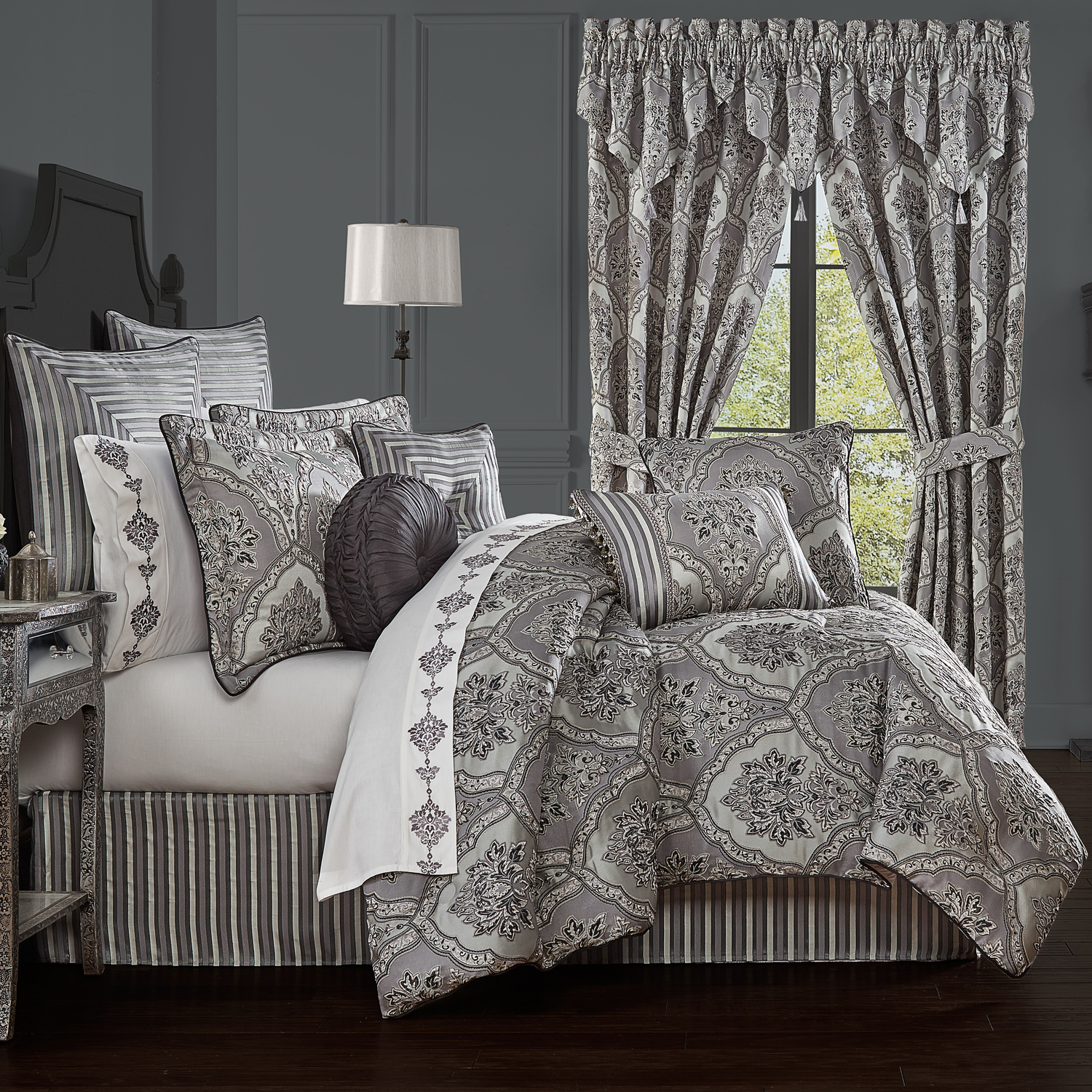 Silverstone by Five Queens Court Bedding