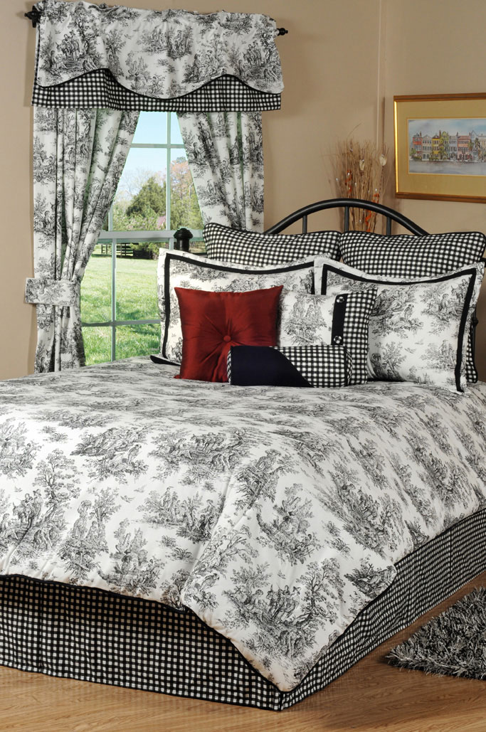 Jamestown Toile By Victor Mill Beddingsuperstore Com
