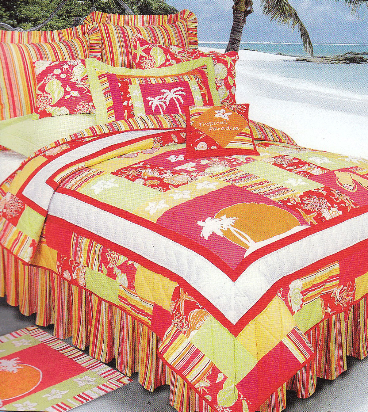 Tropical Paradise by C&F Quilts