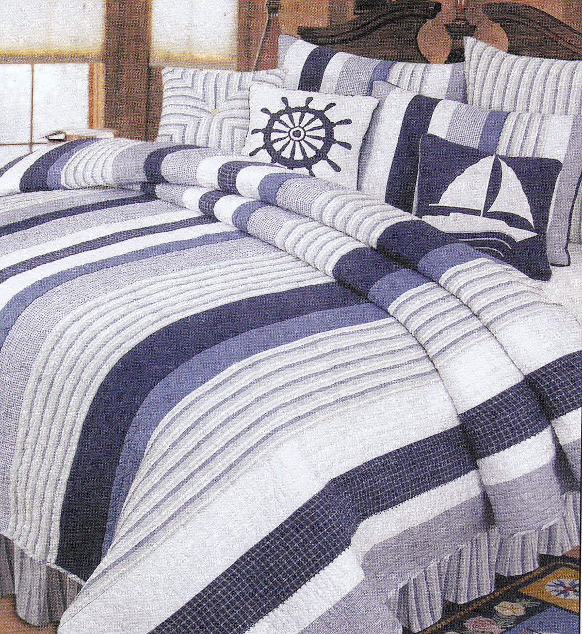 Nantucket Dream by C&F Quilts
