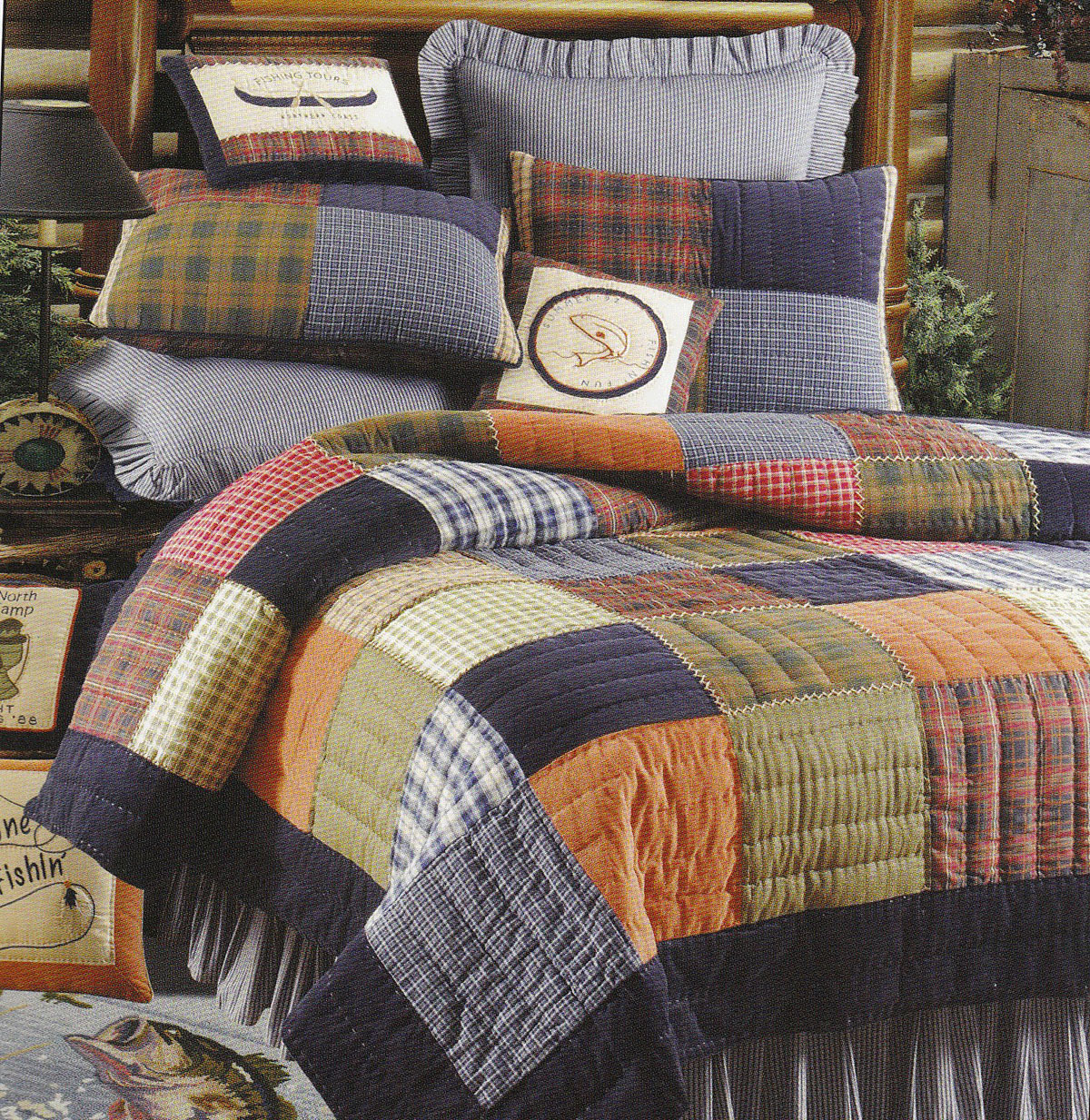 Northern Plaid By C Amp F Quilts Beddingsuperstore Com
