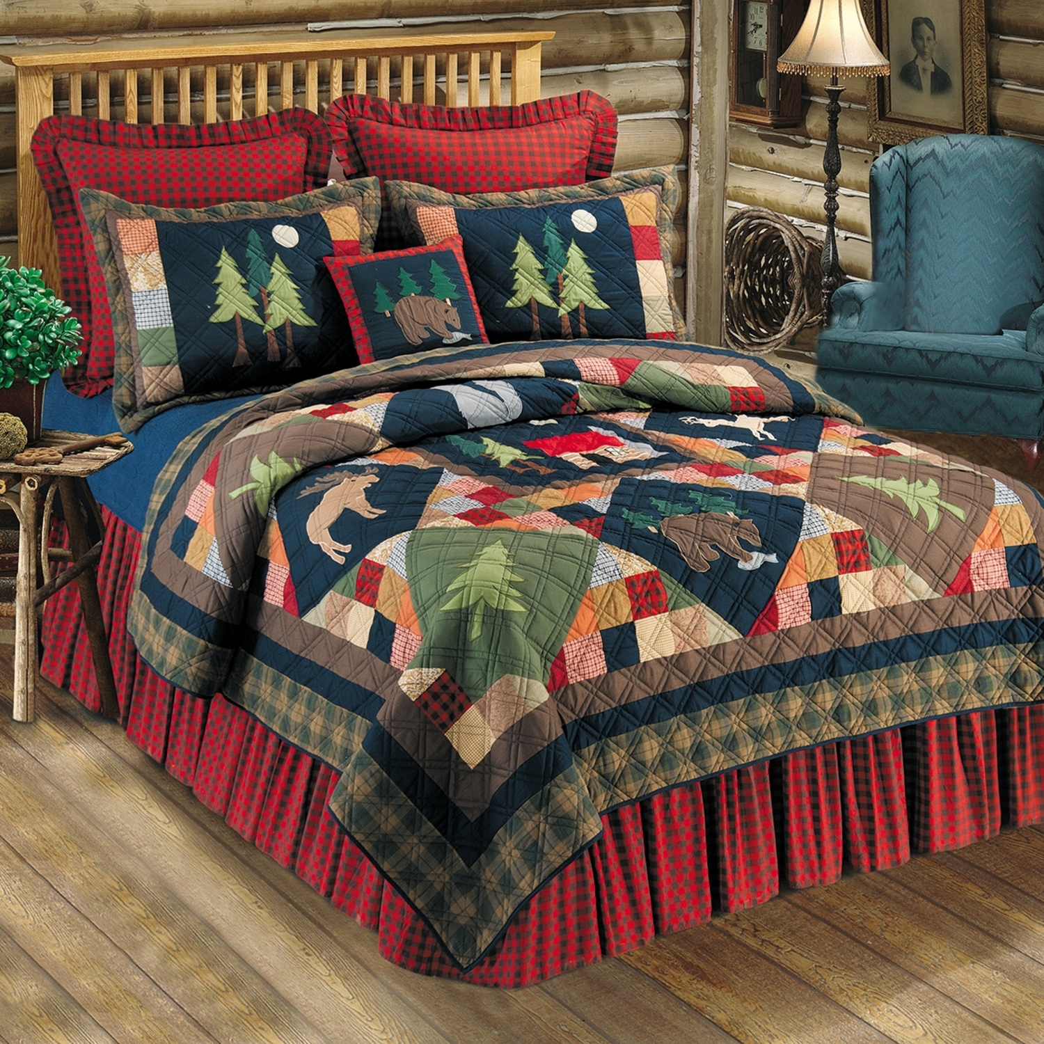 Timberline By C Amp F Quilts Beddingsuperstore Com