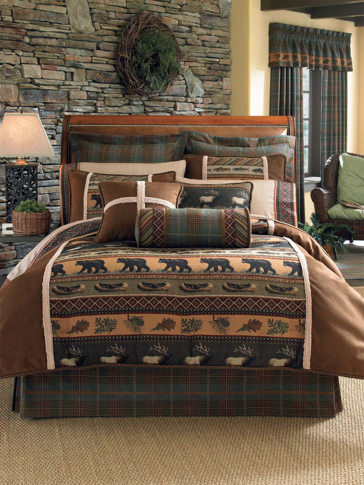 Caribou By Croscill Home Fashions Beddingsuperstore Com