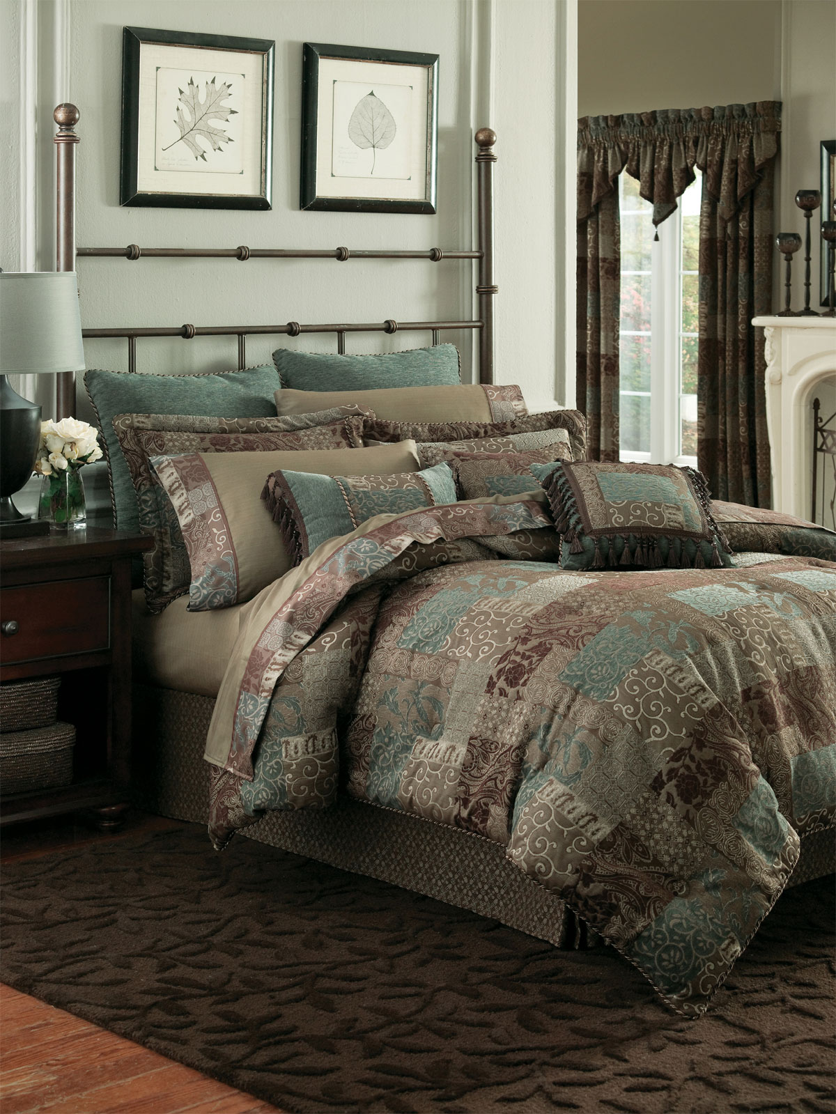 Galleria Chocolate by Croscill Home Fashions