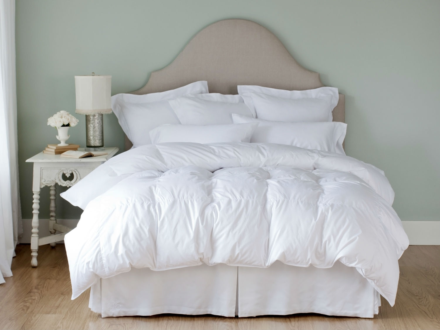 Montreux Duvet/Down Comforter & Pillows by St. Geneve Luxury Bedding