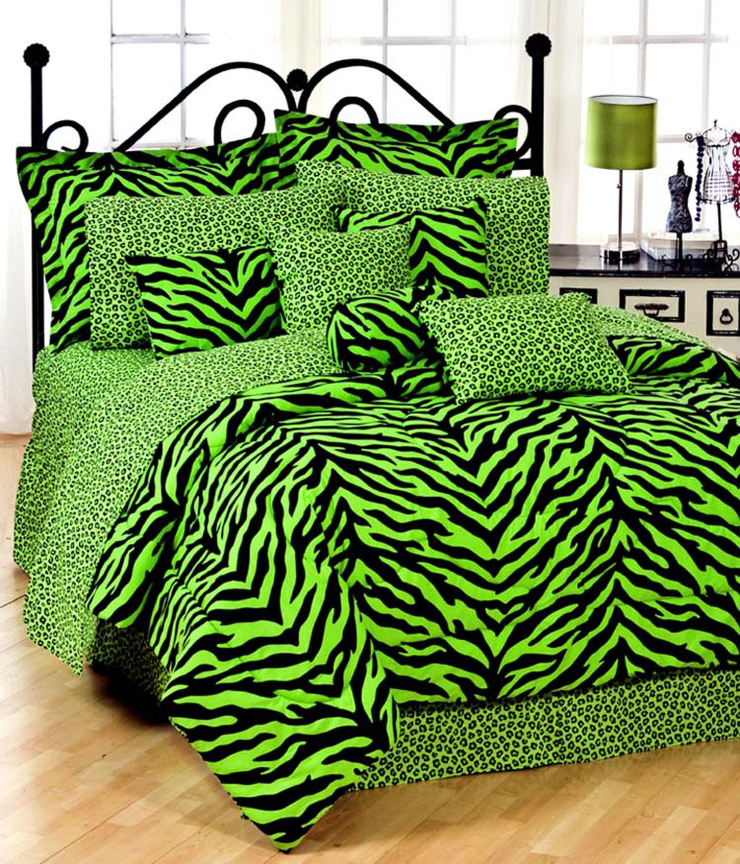 Bed sets for teenage girls zebra - Zoom In