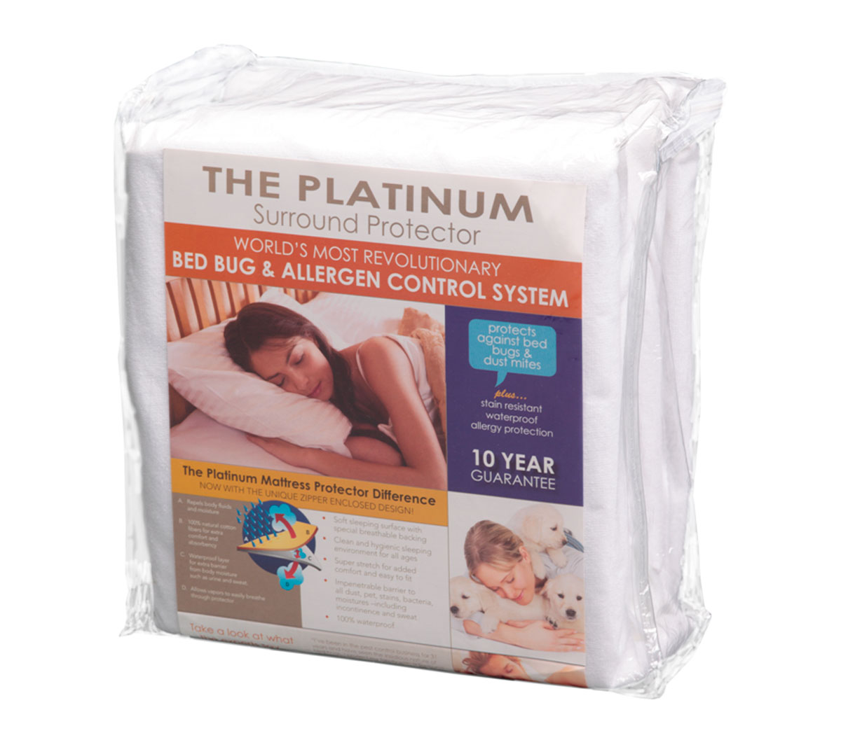 Platinum Surround Mattress Protectors