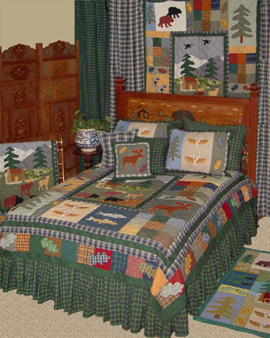 Northwoods Walk By Patchmagic Quilts Beddingsuperstore Com