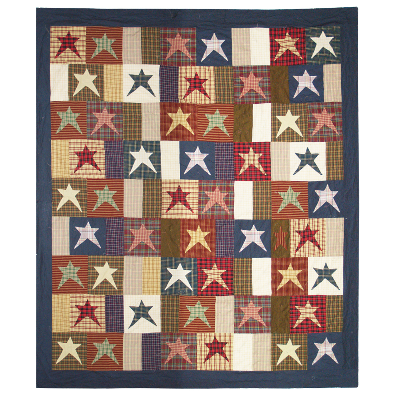 Homespun Stars By Patchmagic Quilts Beddingsuperstore Com