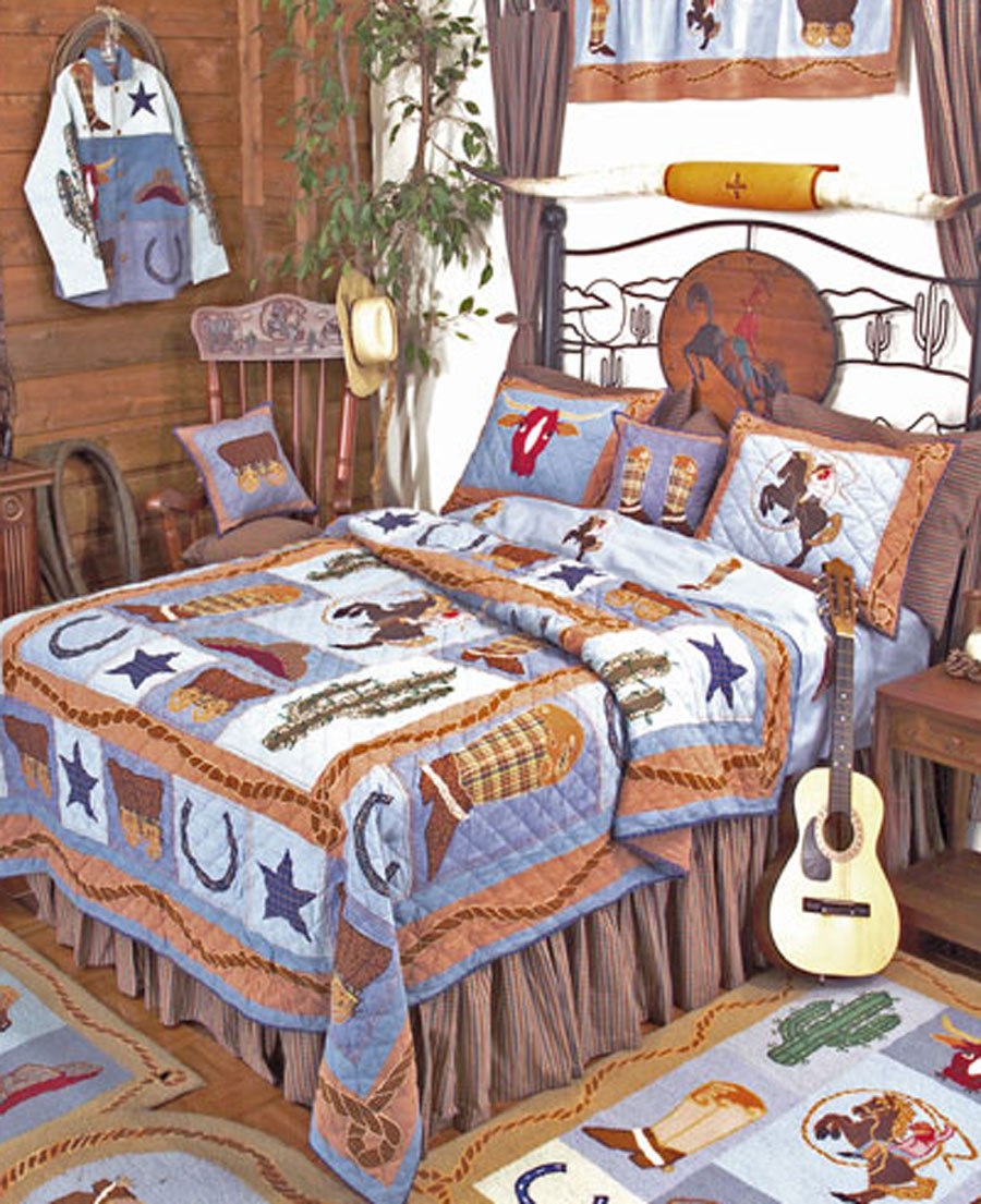 Cowboy By Patchmagic Quilts Beddingsuperstore Com
