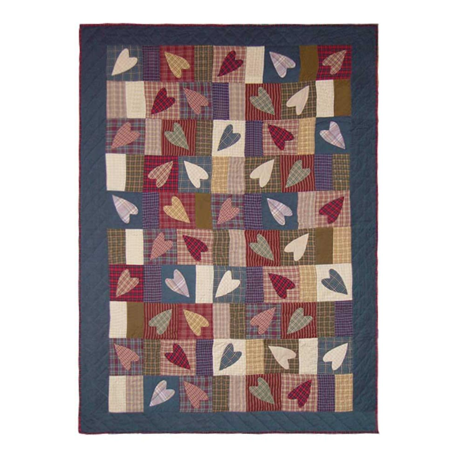 Primitive Hearts By Patchmagic Quilts Beddingsuperstore Com