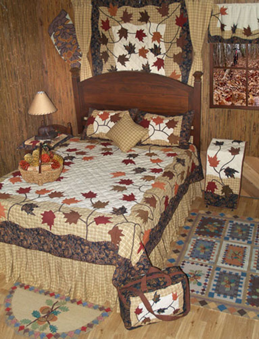 Autumn Leaves by Patchmagic Quilts