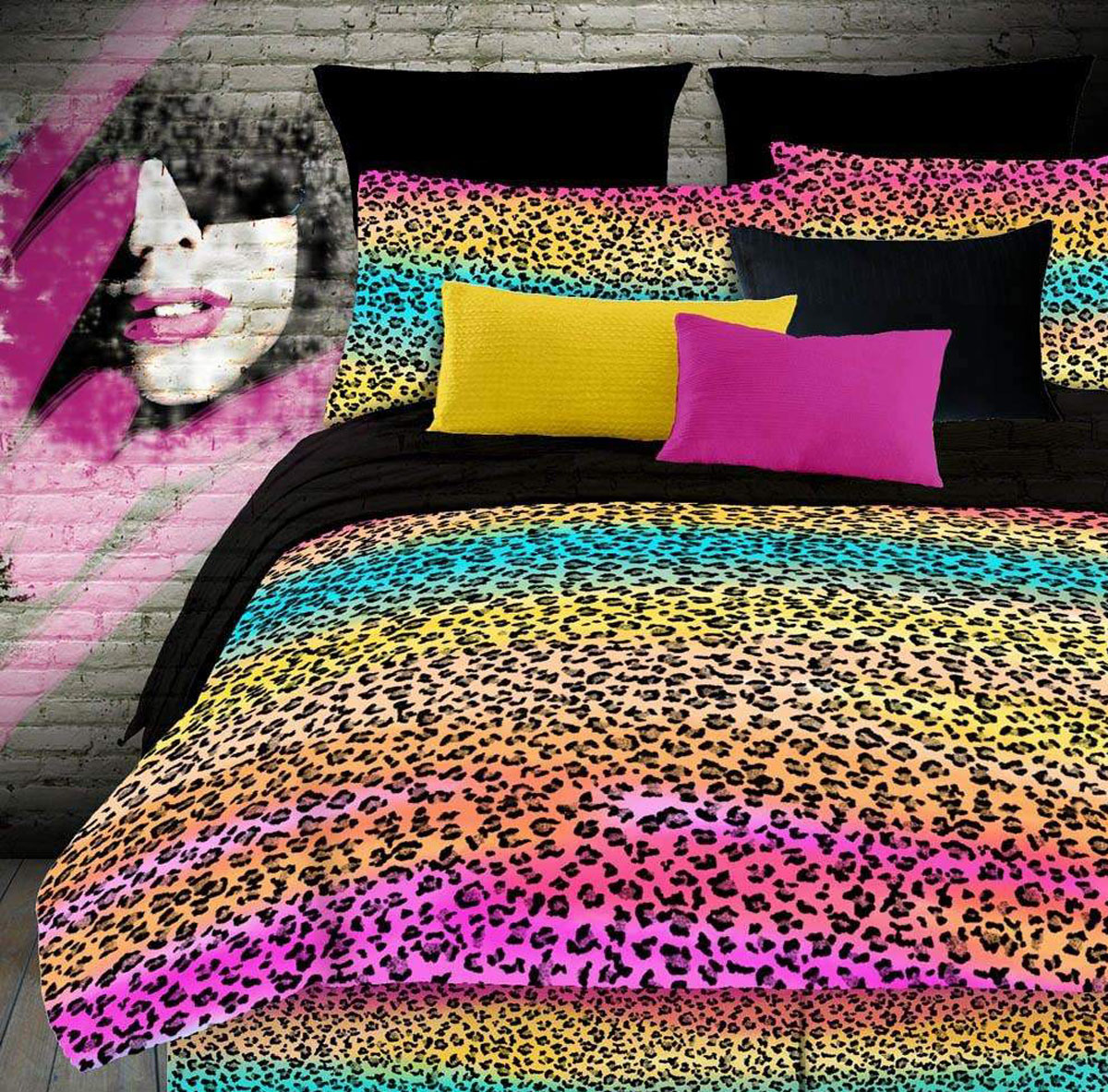 Rainbow Leopard  by Street Revival Veratex