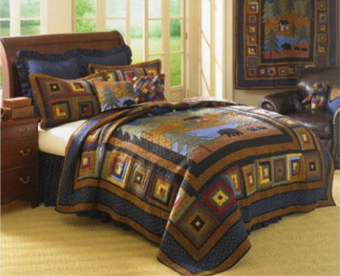 Midnight Bear By Donna Sharp Quilts Beddingsuperstore Com