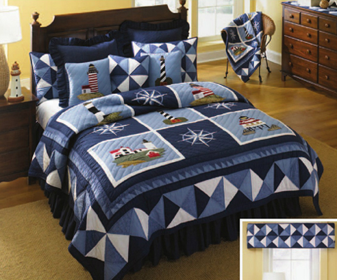 Lighthouse Tour By Donna Sharp Quilts Beddingsuperstore Com