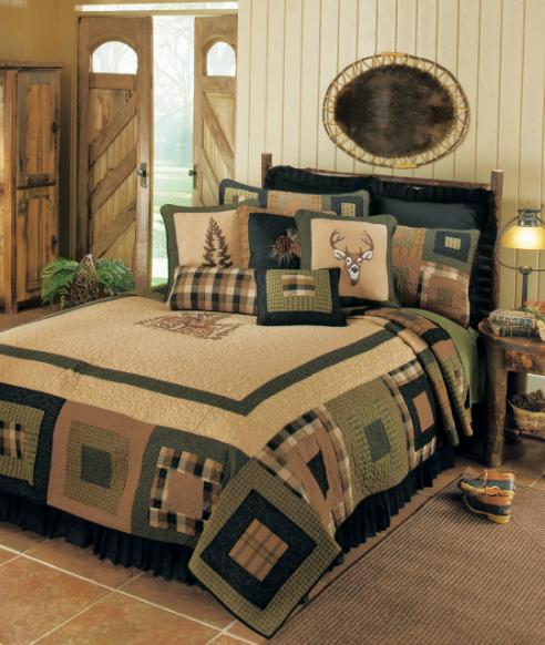 Deer Blocks By Donna Sharp Quilts Beddingsuperstore Com