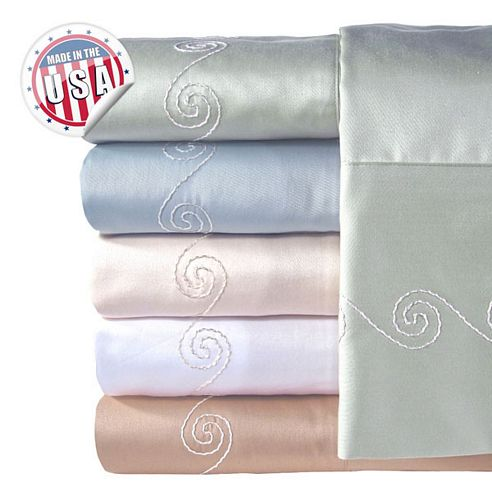 Swirl 300 Thread Count Sheets By Veratex