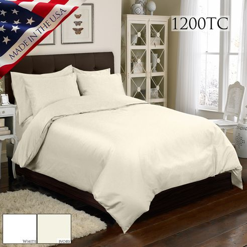 1200 Thread Count Mini Duvet Cover Sets By Veratex