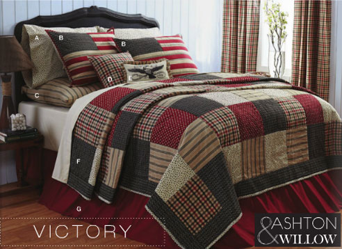 Victory By Vhc Brands Quilts Beddingsuperstore Com