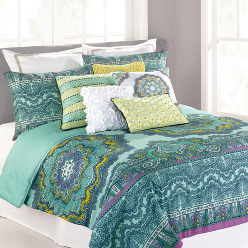Paisley Medallion By Nanette Lepore Beddingsuperstore Com