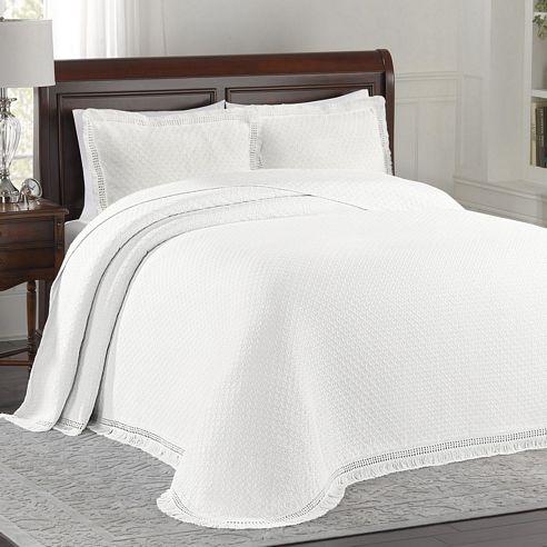 Woven Jacquard White By Lamont Home Beddingsuperstore Com