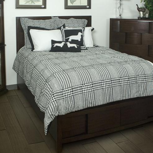 Houndstooth bedding