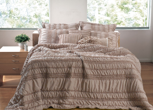 Tiana Taupe By Greenland Home Fashions Beddingsuperstore Com
