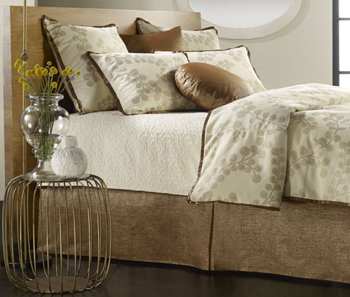 Splendore Copper By Mystic Home Luxury Bedding