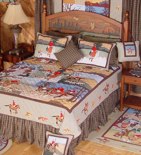 Fox Hunt Crib Bedding By Patchmagic Quilts
